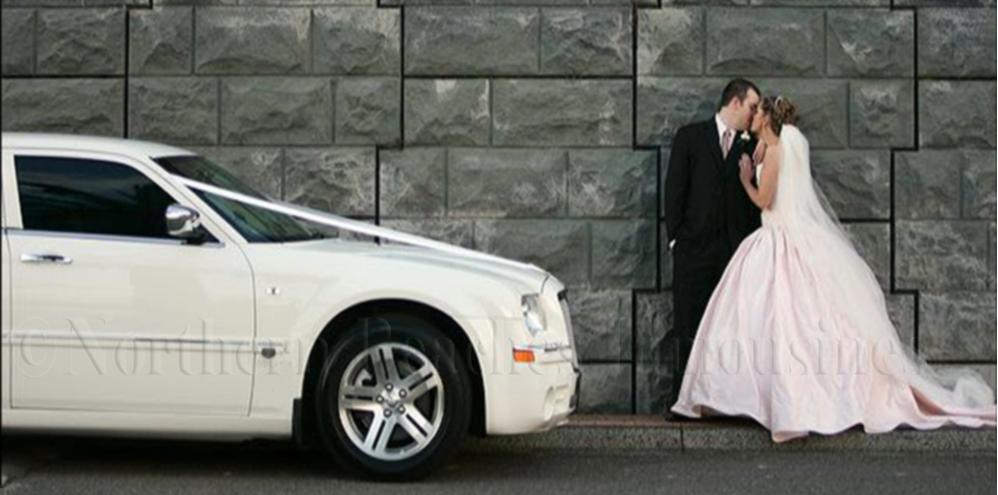 Chrysler 300C Bride & Groom